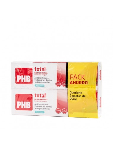 PHB Pack Total Pasta Dentifrica Menta...