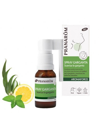 Pranarom Aromaforce Spray Garganta...